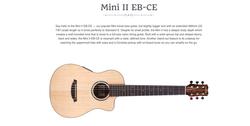 Cordoba Mini II EB-CE