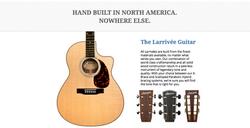 Larrivee Guitars Dealer Canada