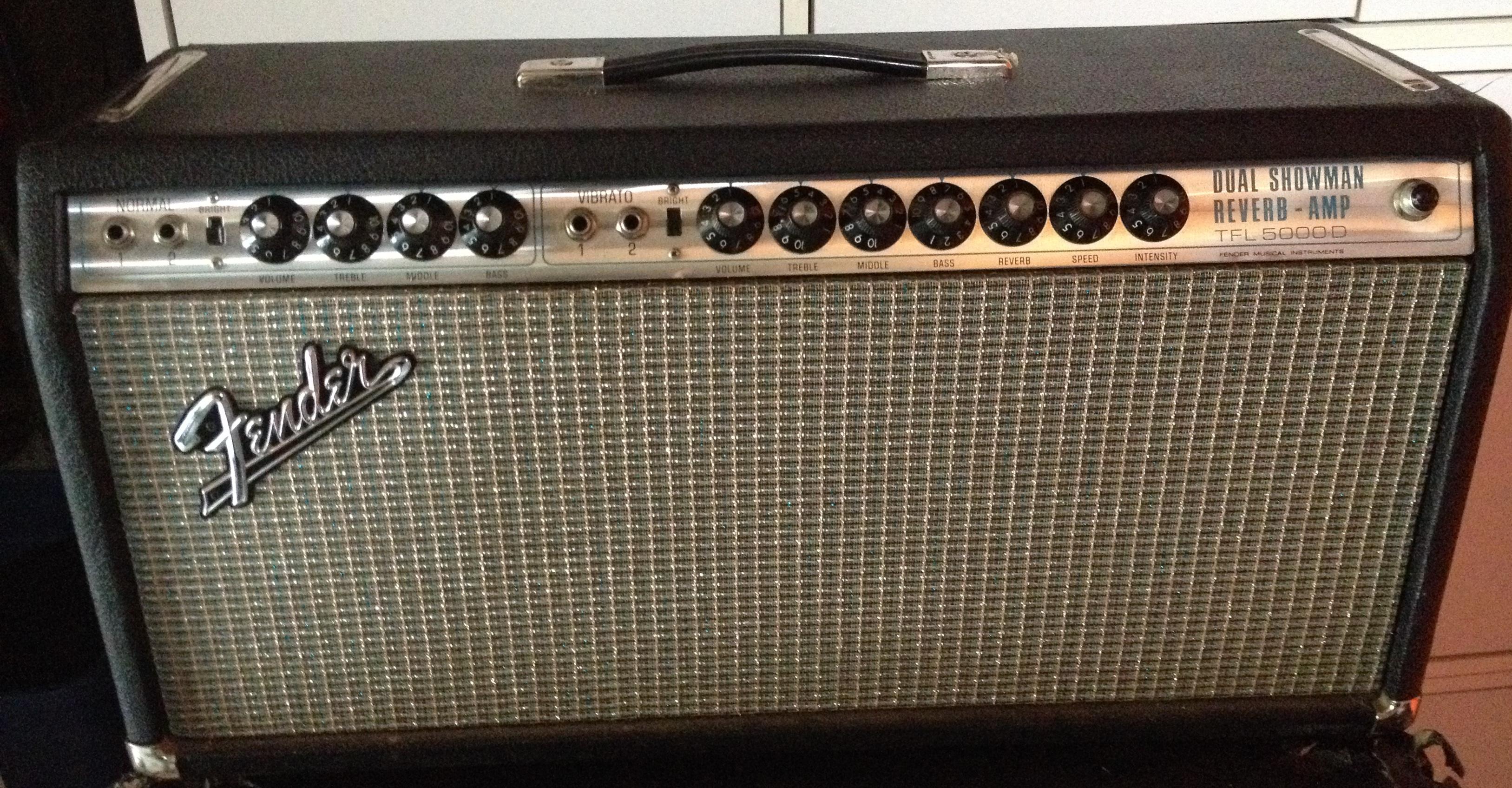 Fender Dual Showman Reverb TFL 5000D