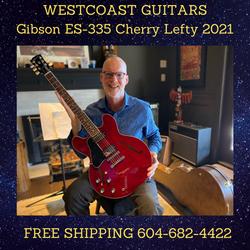Gibson ES-335 Cherry Lefty 2021