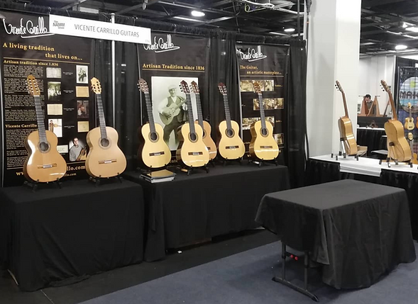 Vicente Carrillo Made In Spain Flamenco Classical Guitars Dealer Canada