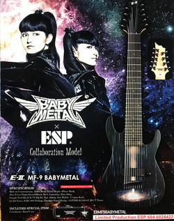 ESP Baby Metal LTD Edition