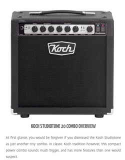 Koch Studiotone 20 Combo