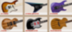 esp dealer canada best quality price shipping E-II LTD Japan Signature Kirk Hammett George Lynch Demonology Ouija LTD Limted Edition