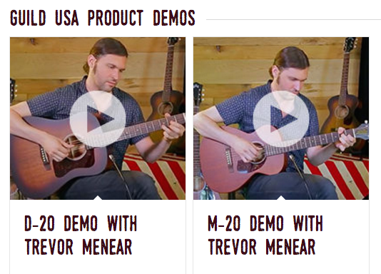 Guild USA Product Demos