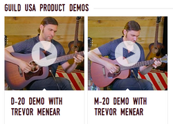 Guild USA Product Demos