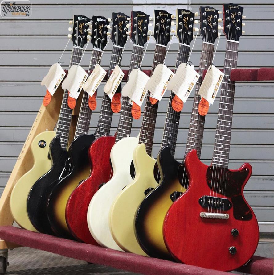 Gibson Custom Shop Historic Les Paul Juniors 2018