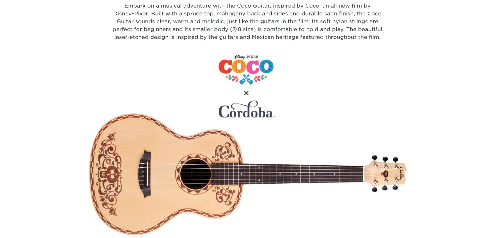 Coco Guitar Cordoba Dealer Canada