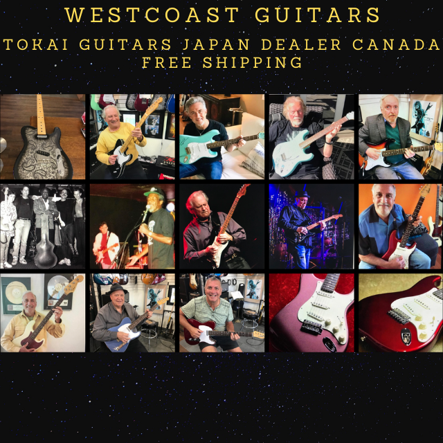 Tokai Guitars Artists Canada