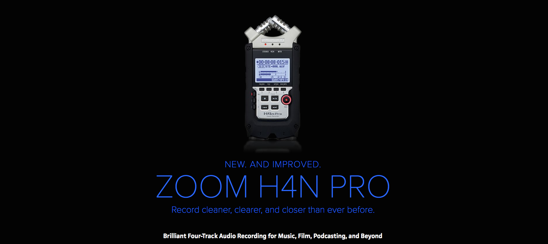 Zoom H4N Pro Dealer Vancouver Canada