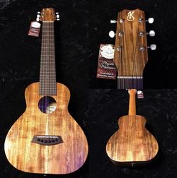 Kanile'a GL6 K-1 Hand Made Solid Koa Guitelele