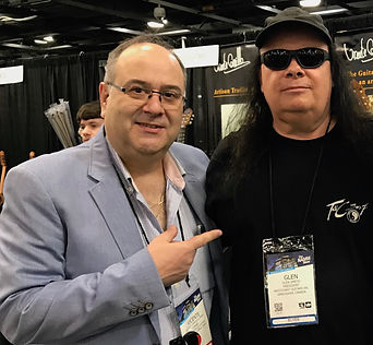Vicente Carrillo and Glen Smith Carrillo Guitars Dealer Canada