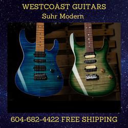 SUHR MODERN Custom Order Your Dream Guitar 604-682-4422