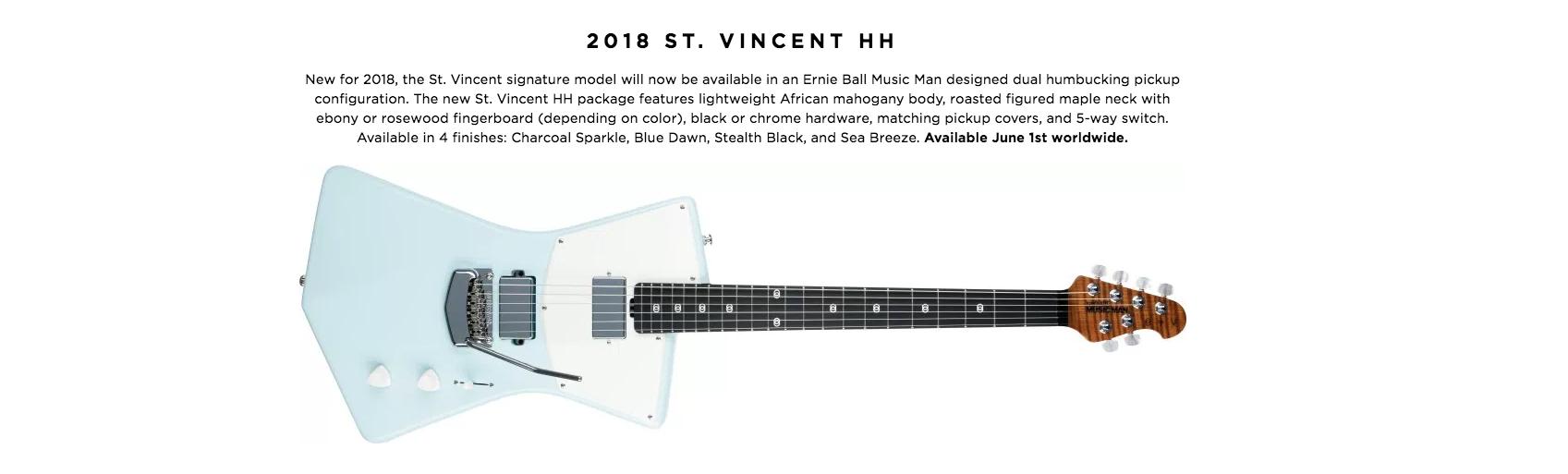 2018 ST. VINCENT HH