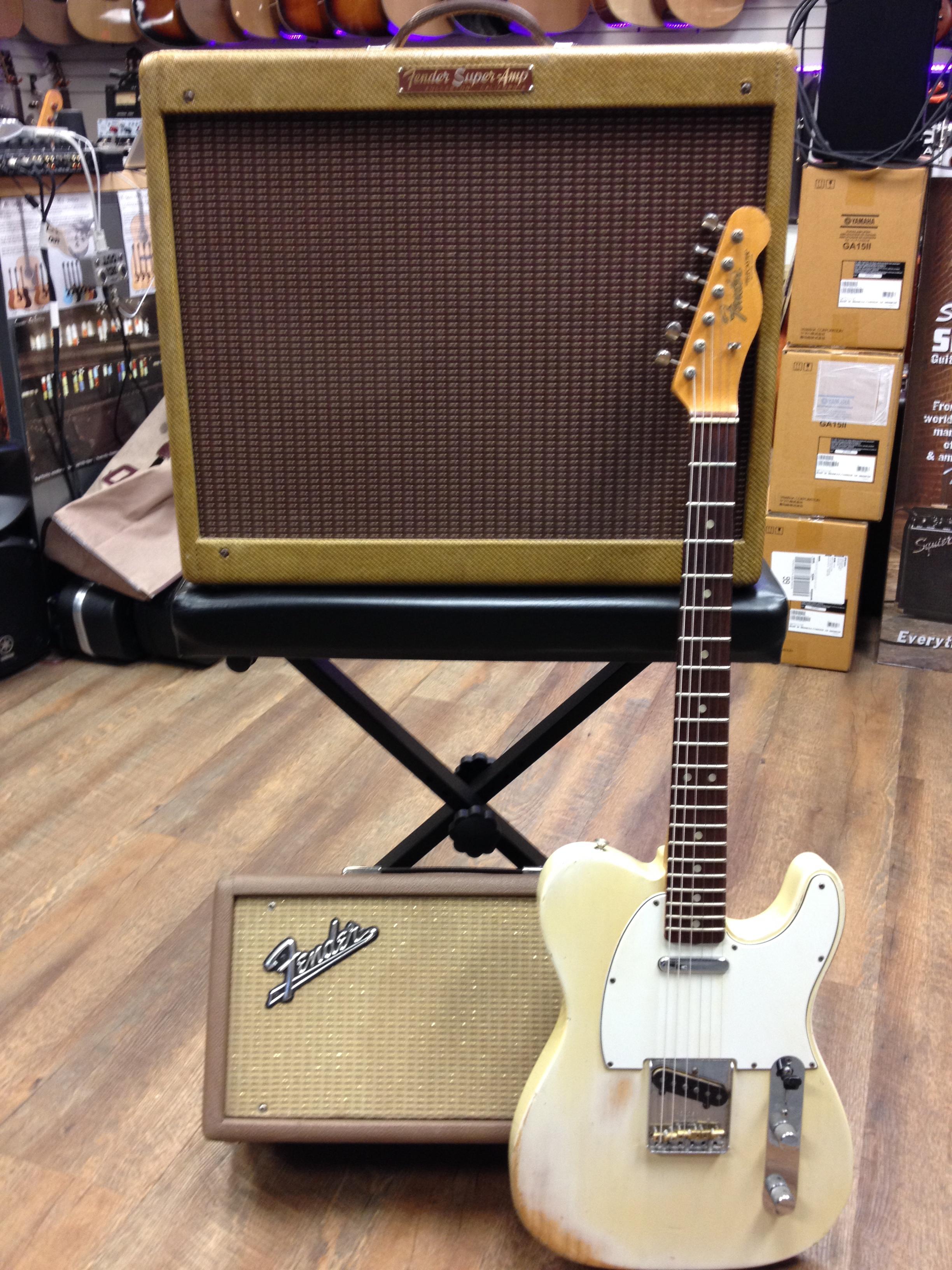 1966 Fender Tele 1959 Fender Super