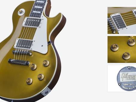 Gibson Custom Shop 1957 Goldtop Les Paul  Hand Made Guitars at Westcoast Guitars