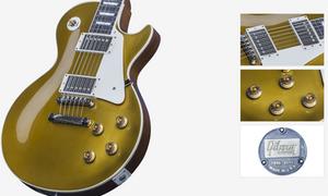 1957, Gibson, Goldtop, Custom, Shop,