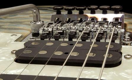 floyd, rose, bridge, individually, calibrated, for, neck, radius,