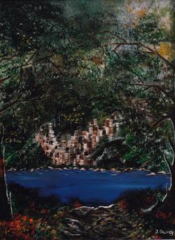 "Jozsef Burge "" Fantasy Living """
