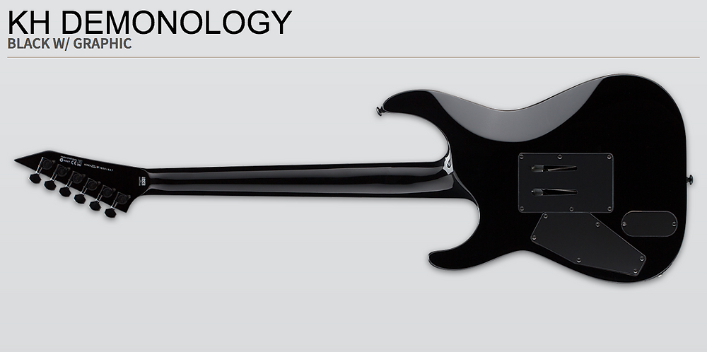 Kirk, Hammett, Demonology, guitar, best, price, online, shipping, vancouver, canada, Metallica, ESP, LTD, neck, thru, emg, signature,