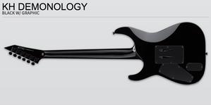 Kirk, Hammett, Demonology, guitar, best, price, online, shipping, vancouver, canada, Metallica, ESP, LTD, neck, thru, emg, signature,
