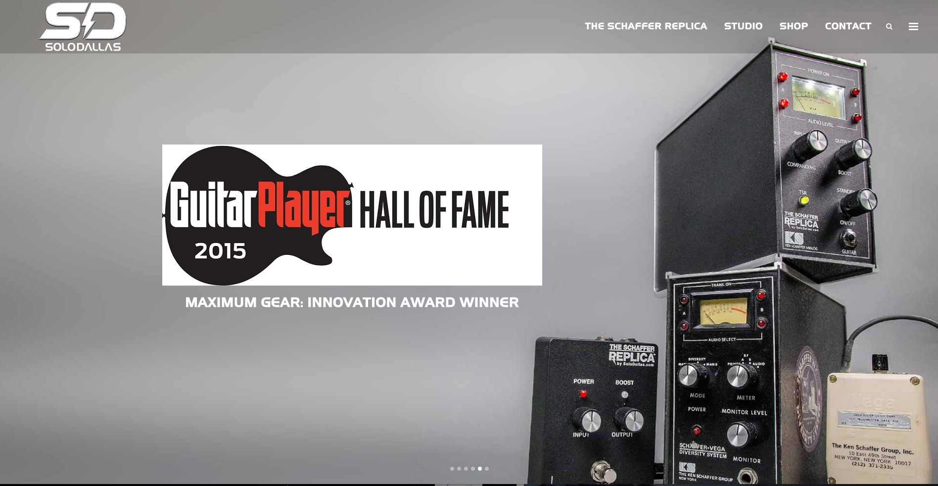 SoloDallas Guitar Player Hall Of Fame