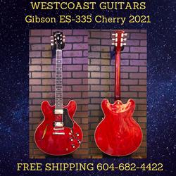 Gibson ES-335 Cherry 2021