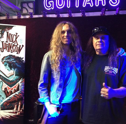 Glen and Nick Johnston