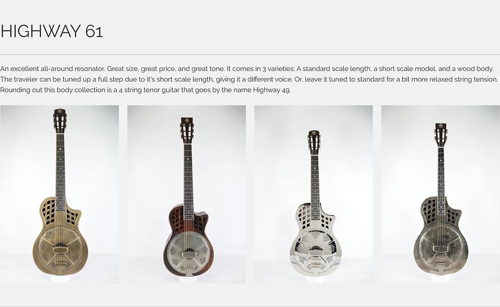 Highway 61Republic Guitar Dealer Canada