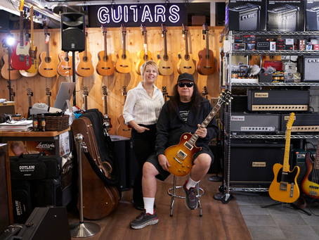 Westcoast Guitars Voted Best Guitar Store In Canada