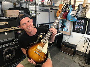 Gibson Artist Corey With A Handpicked Les Paul Std