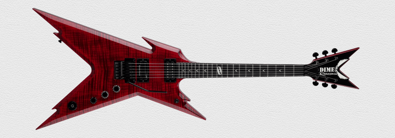 DIME RAZORBACK FLAME TOP