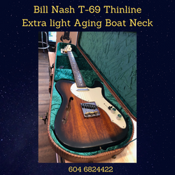 Nash T-69 Thinline Boat Neck Extra Light Aging