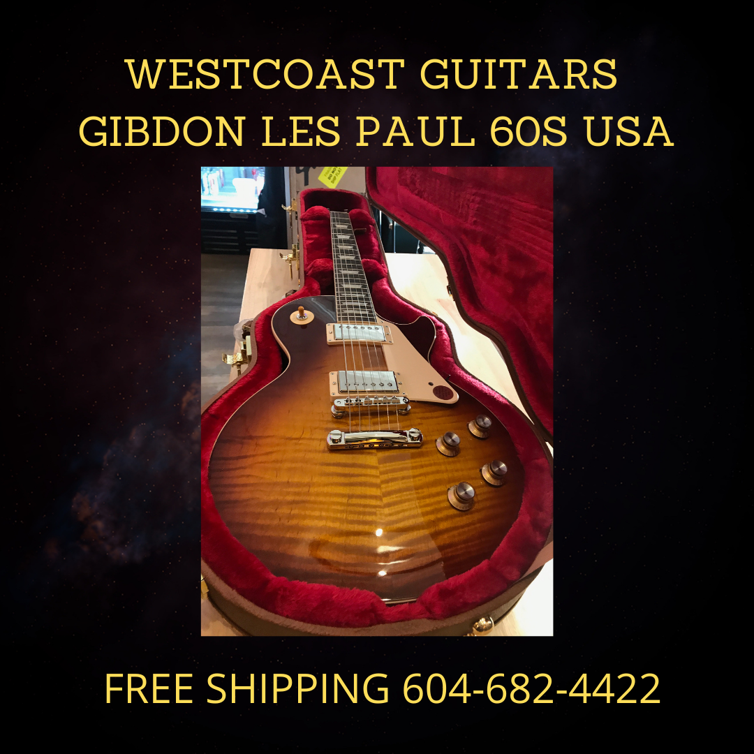 SOLD GIBSON LES PAUL 60S USA