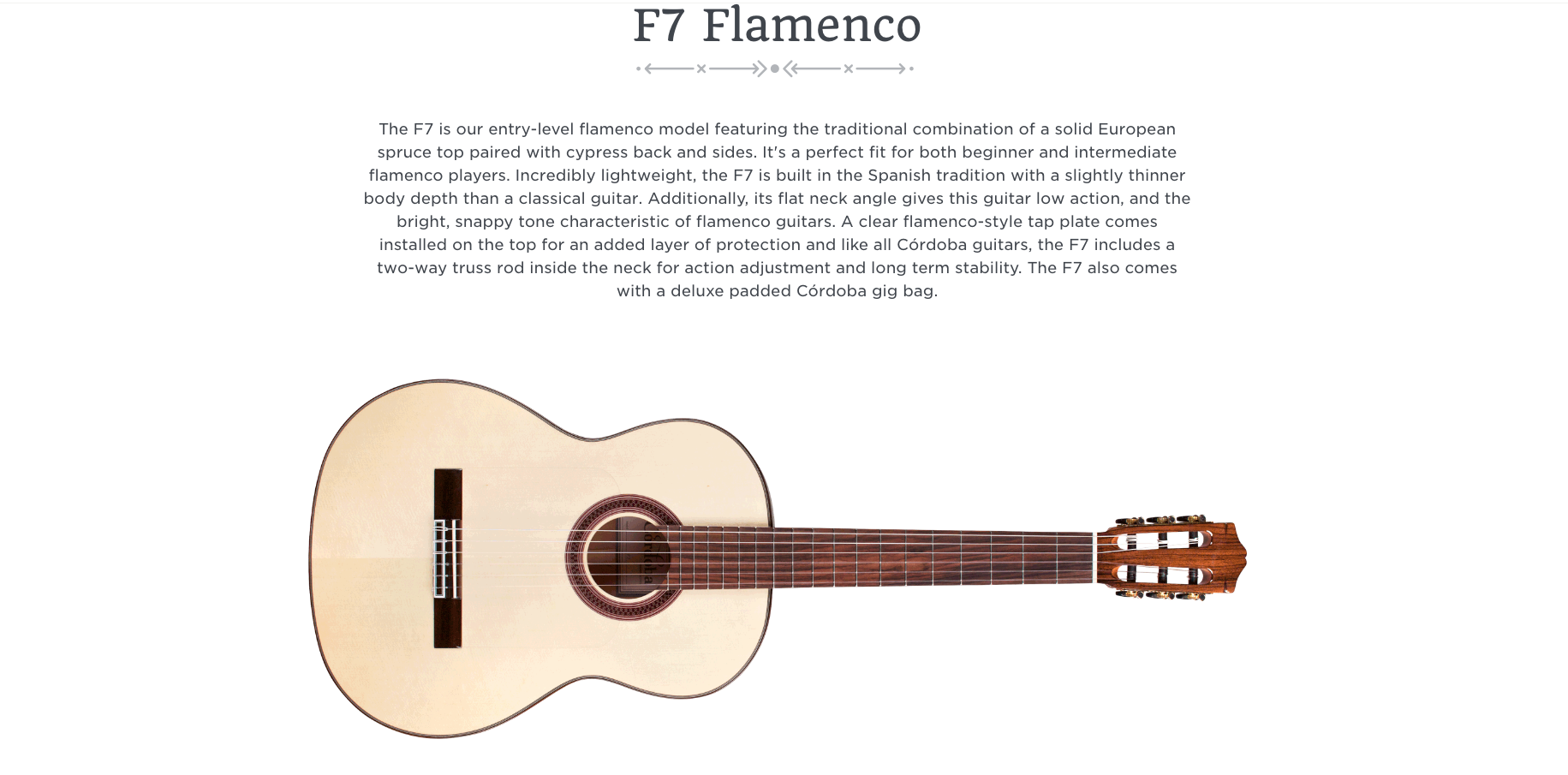 Cordoba F7 Flamenco  Dealer Canada