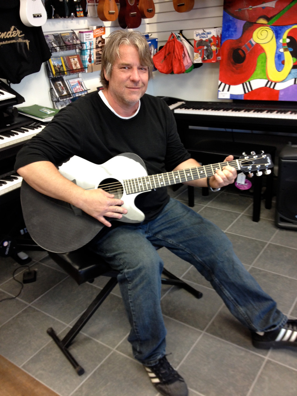 New RainSong Guitar Owner @ Westcoast Guitars.jpg