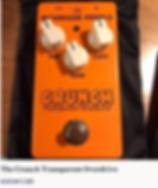 McGregor Crunch Transparent Overdrive 325.00 CDN