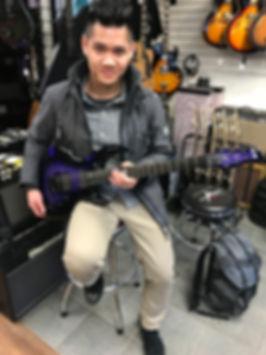 Vancouver Canada ESP Artist At Westcoast Guitars