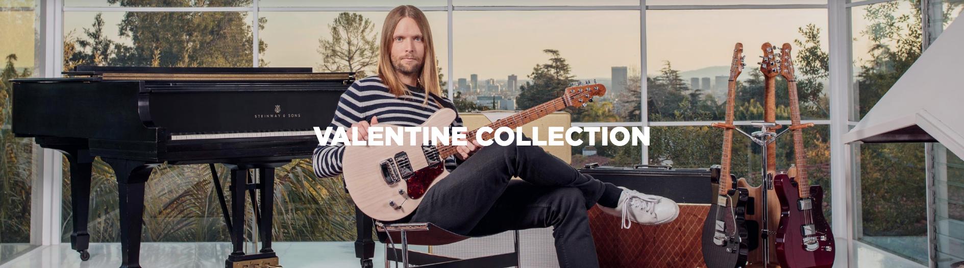 Ernie Ball Valentine Collection
