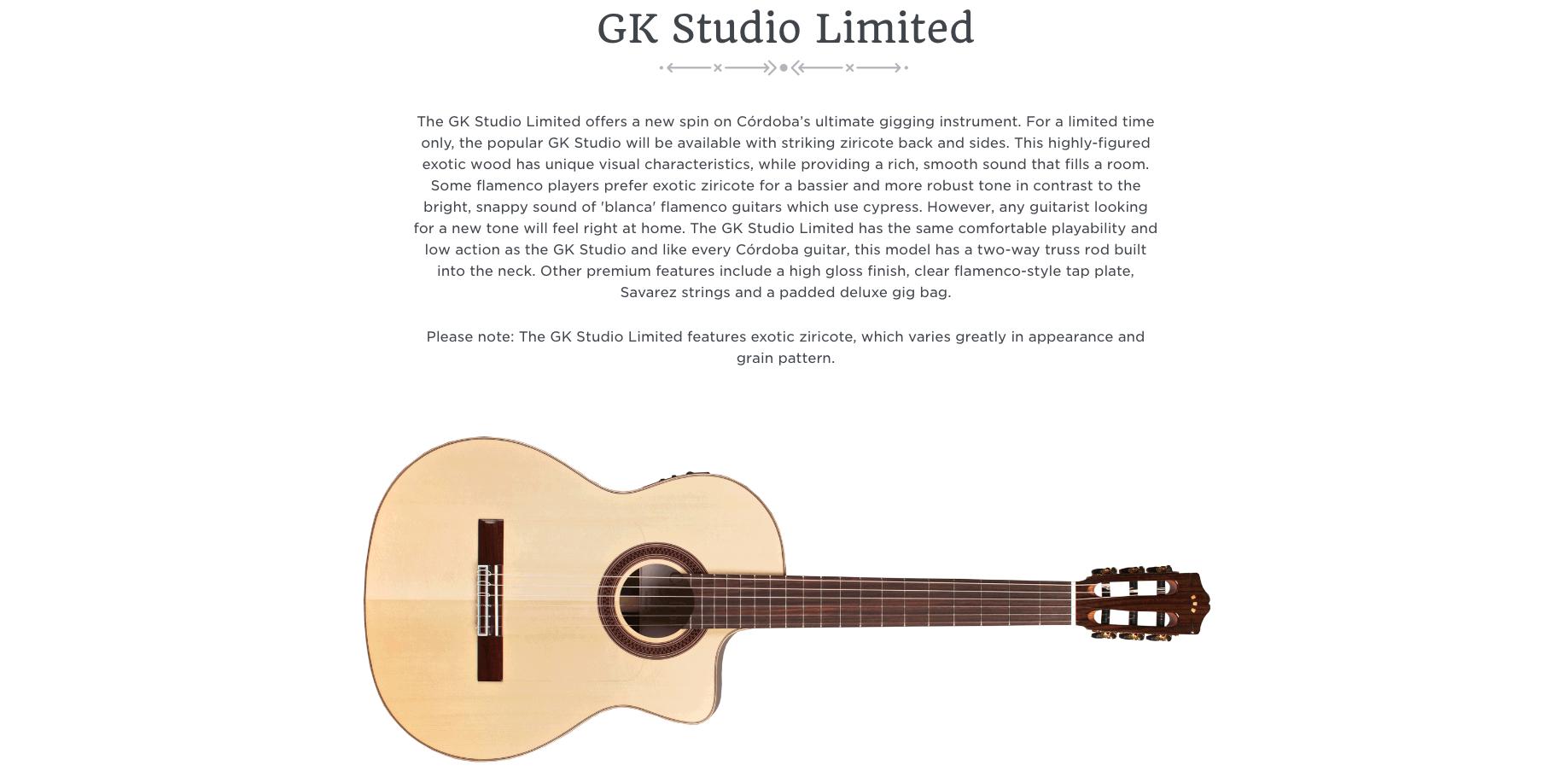 Cordoba GK Studio Limited Canada