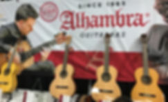 Alhambra Guitars Made In Spain Canada Dealer