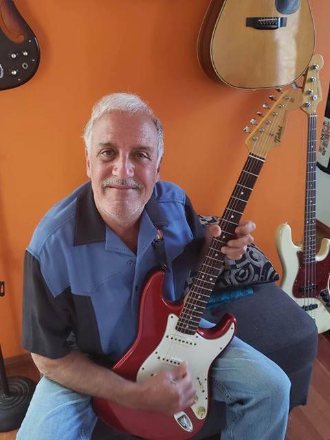 Tokai Guitars Jack Lavin Powder Blues Band