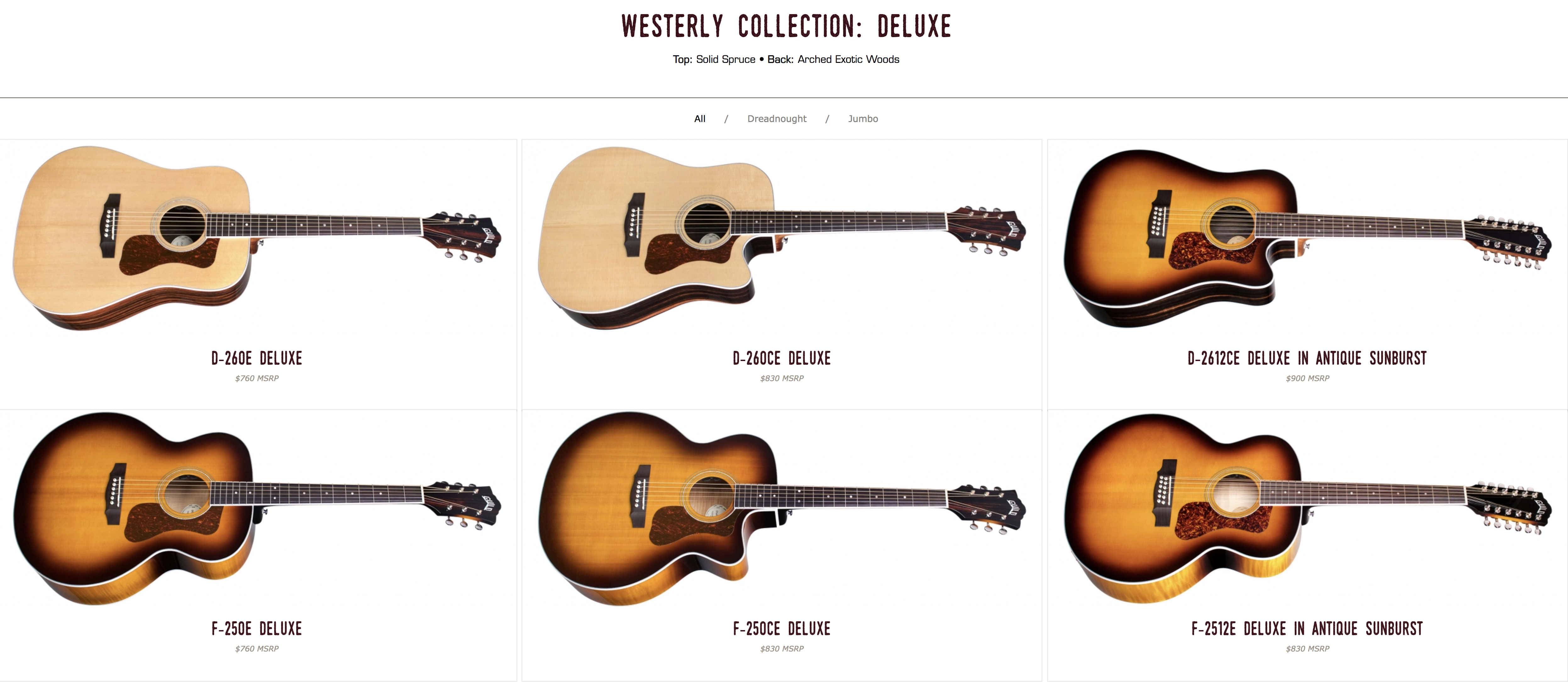 Guild Westerly Deluxe