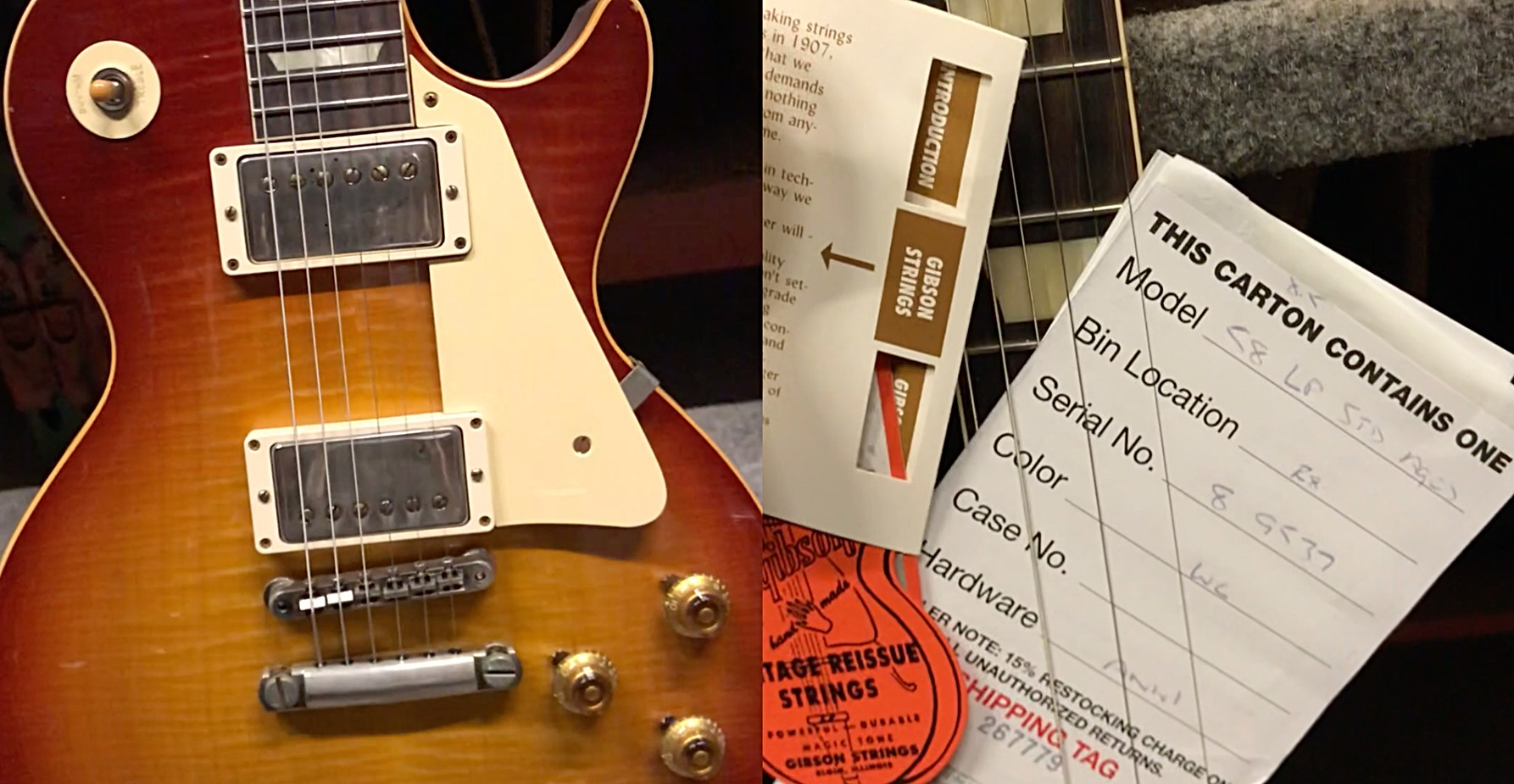 Handpicked '58 Les Paul Std Aged Arriving Soon Call 604 682 4422