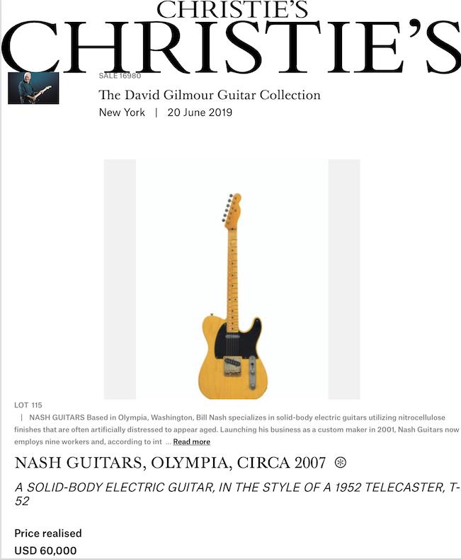 David Gilmour's Nash T-52