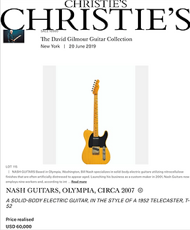 David Gilmour's Nash T-52 Sold 60K USD In Charity Auction