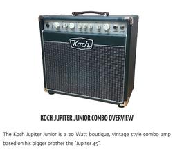 Koch Jupiter 20 Watt Junior Combo