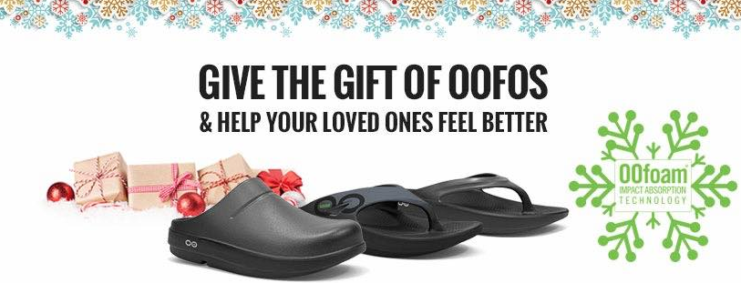 Oofos dealer Canada wide shipping recovery sandals and footwear 604 682 4422