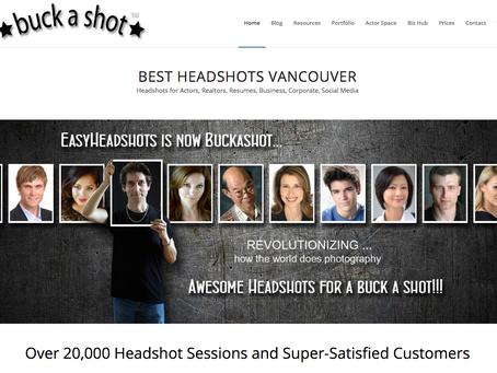 Buck A Shot : Best Headshots Vancouver Canada