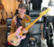 Roger Nash Bass 68 Tele Paisley
